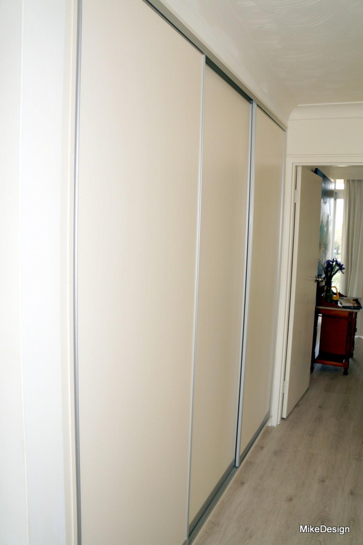 Hallway Storage Cabinet With Slimline Sliding Doors Mike Design